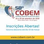 58º COBEM: inscrições abertas!
