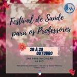 FESTIVAL DE SAÚDE PARA OS PROFESSORES